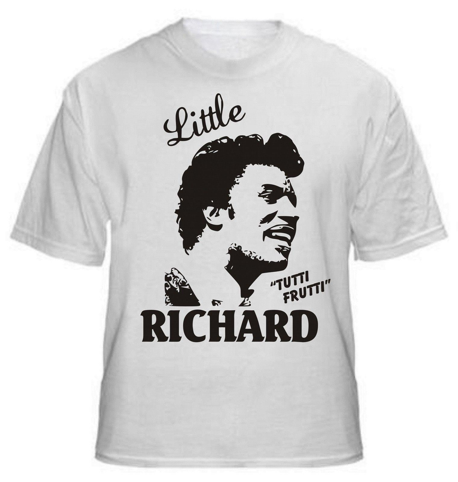 LITTLE RICHARD tutti frutti Camiseta, Rock 'n' ROLL LEGEND - Todas as Tallas jaqueta croata tshirt de couro