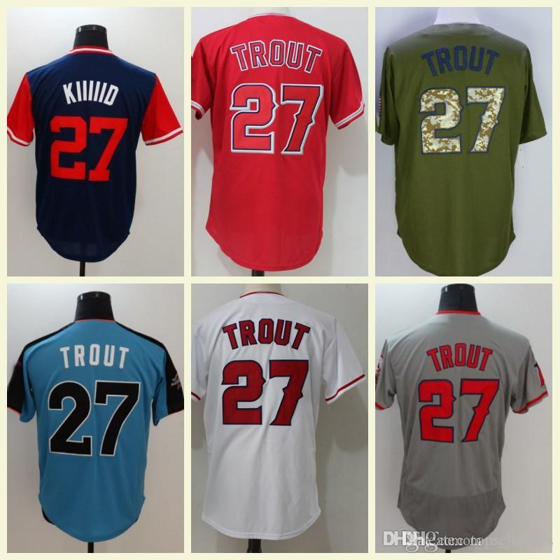 best sneakers 30490 f6751 mike trout all star game jersey