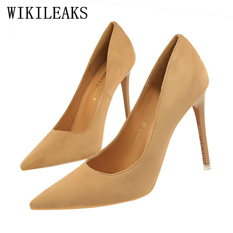 0df3d48416 Dress Pink Extreme High Heels Bigtree Shoes Woman Italian Euro Women Shoes  High Heel Pumps Escarpins Femme 2019 Stiletto Bridal Shoes