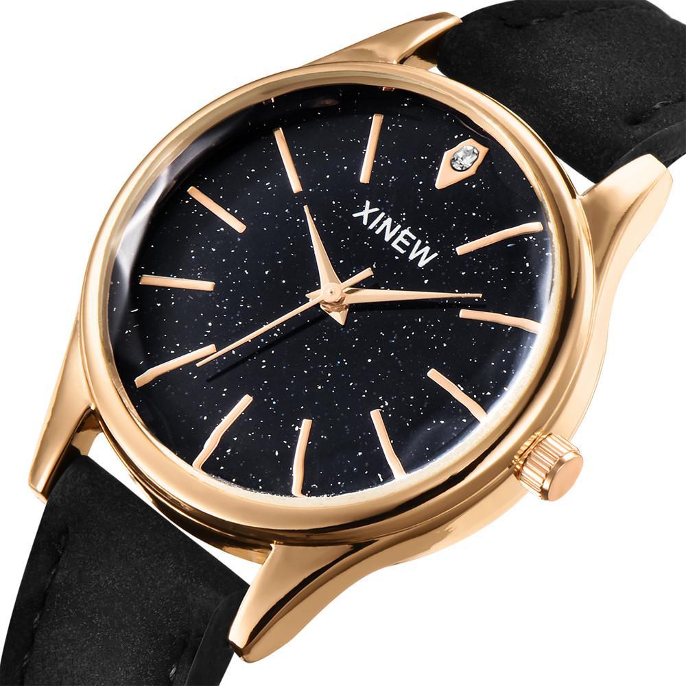 e8462f99abf Compre Moda Smart Watch Mulheres Bluetooth Unisex Dress Xinew Relógios De  Couro Da Marca Das Senhoras Das Mulheres Casual Dress Quartz Wristwatch    30 De ...