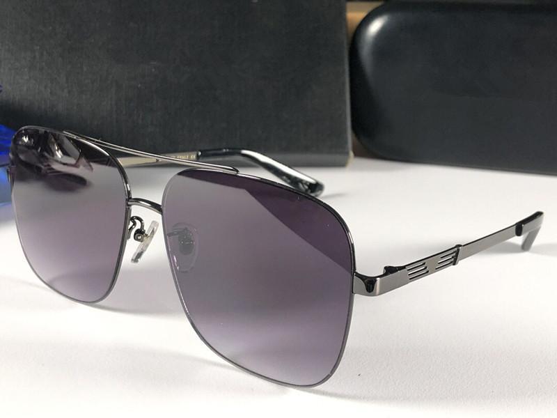664f1c715f Compre 5163 Moda Para Hombre Gafas De Sol Cuadradas Con Montura Metálica  Estilo De Venta Diseñador Gafas De Protección De Calidad Superior Anti UV400  Con ...