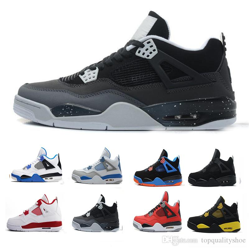 d57c5ac7ef08 2019 4s Men Basketball Shoes Travis X Sports Shoe Houston Oilers 4 Cactus  Jack Pure Money Raptors Cement Black Cat Bred Motosports Sneakers From ...