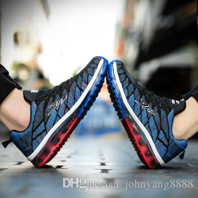 06ff2fa7f9e7 2019 Men Running Shoes For Women Nice Run Athletic Trainers Blue Zapatillas  Sports Shoe Max Cushion Outdoor Walking Sneakers From Johnyang8888