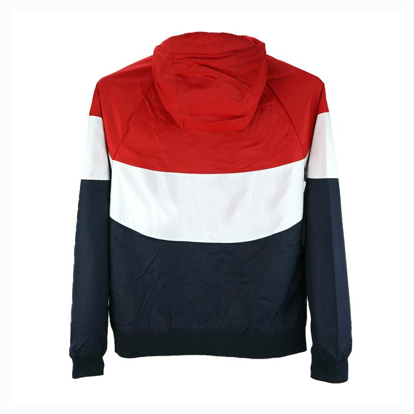 Wholesale Mens Jackets Spring Windbreaker Sports Brand Red Designer Black Coat Street Style High Quality Zipper Hoodies Orange CE98232