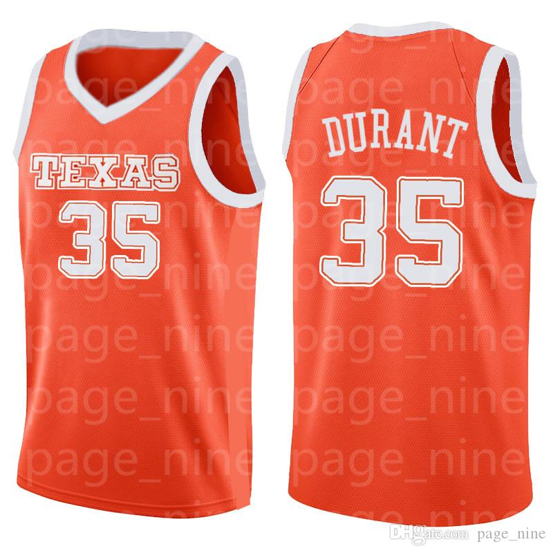 the best attitude 6968f 38e8f NCAA University of Texas 35 Kevin Durant Jersey College Basketball Wears