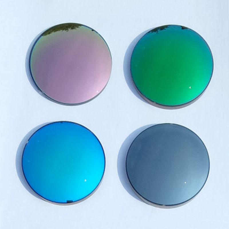 a57196ff39 1.56Unisex Women Men Polarized Mirror Colorful Myopia Presbyopia ...