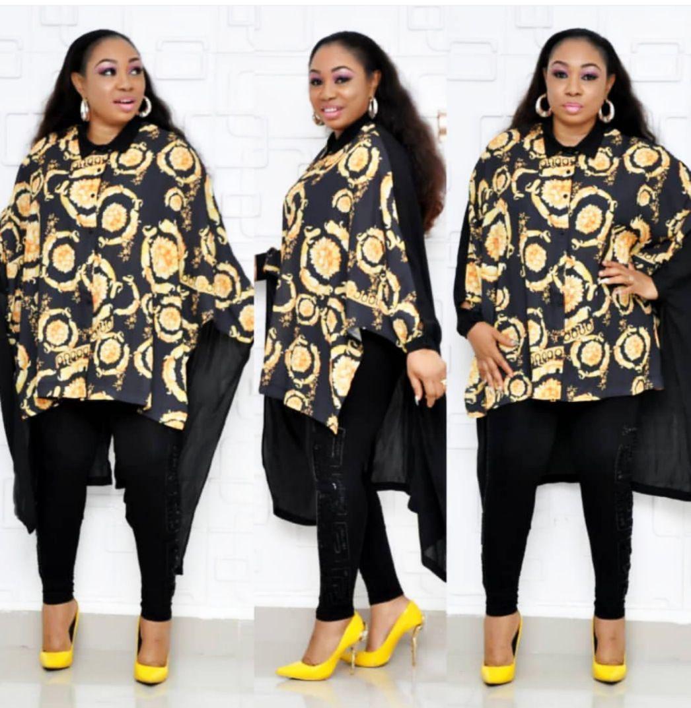 31ba9e49cc Compre Europa E Nos Estados Unidos E África Moda Feminina Swallowtail Solto  Respirável Legal Impressão Digital Camisa Fabricantes Tiro Real De  Jianjian19