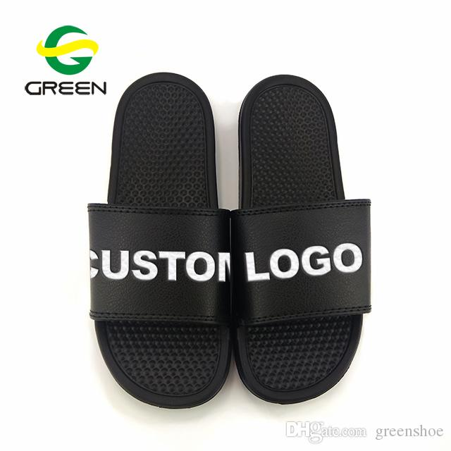388e48578013a Custom Printed Slide Slipper