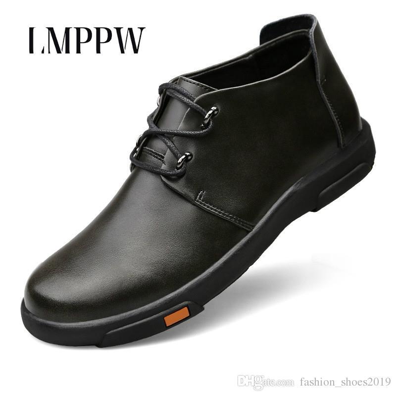 c34c88f0c5 Compre Lujo Calzado Para Hombre Primavera Otoño Invierno Hombres ...