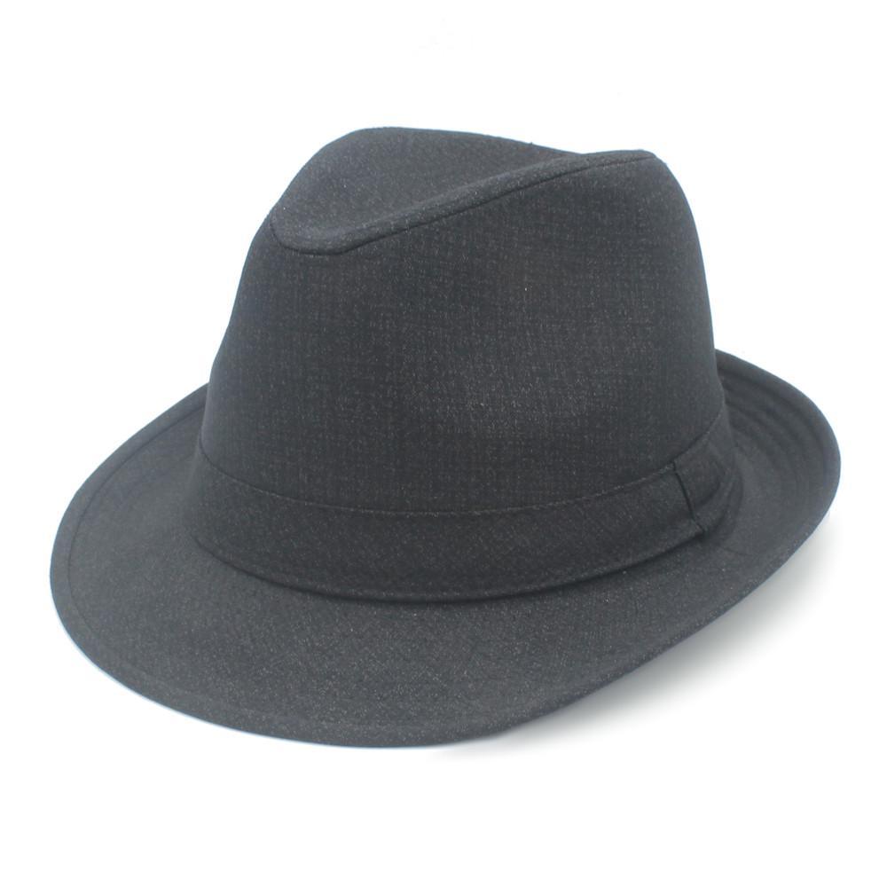 413e5b7f069ebe 4 Size 57 58 59 60 CM Cotton Men Women Fedora Trilby Cap Outdoor ...