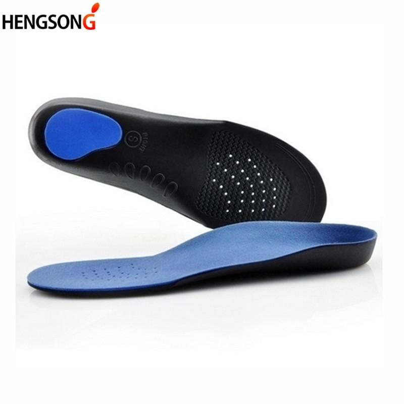 The Best Unisex Orthotic Arch Support Sport Shoe Insoles Insert Cushion For Men Women Leather Wear-resistant Breathable 2018 New Skin Care Tools