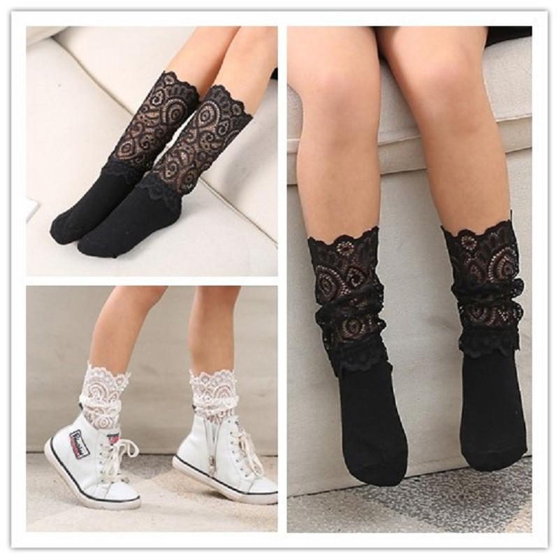 eddf2195d VL0960 New Summer Autumn Comfortable Lace Socks Girl Stitching Girls Kids Hollow  Mesh Socks Online with  91.62 Piece on Yosicil10 s Store