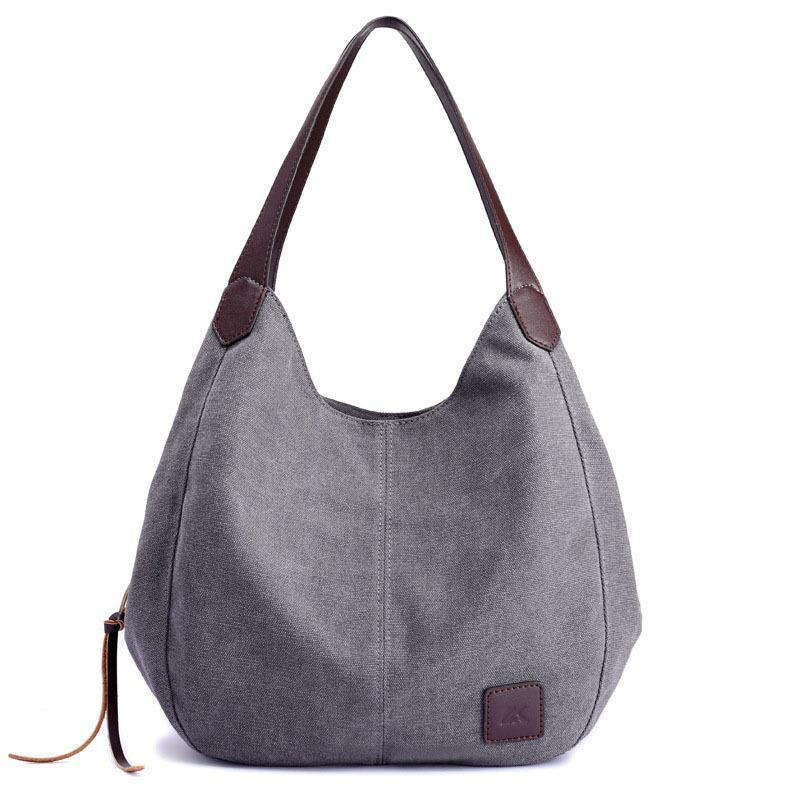 good quality 2019 Women's Handbag Cute Girl Tote Bag Lady Canvas Hobos Shoulder Bag Female Large Capacity Small Leisure Bag Bols