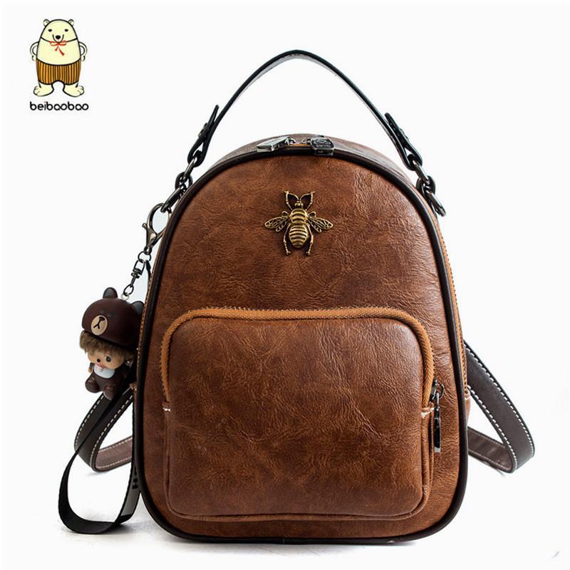 Beibaobao 2019 New Women Backpack High Quality School Bags for Teenagers  Girls Preppy Backpacks Bookbag Travel Wasp Bag Popular Backpacks Cheap  Backpacks ... 27c604dd9415c