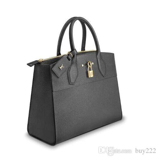 cbc2140531d Womens LVLV designer handbags luxury Lady Bags New Fashion Handbag Leather  backpack purses bag Handbags Top Handles City Steamer MM M52740