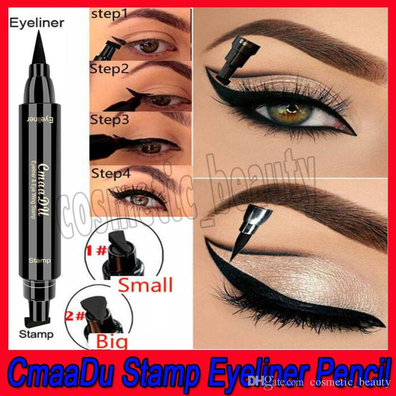 Lower Price with 1 Pcs Charming Eye Winged Eyeliner Seal Wing Waterproof Mascara Cream Dye Eyebrow Pen Makeup Tool Long Lasting Color Natural Beauty Essentials