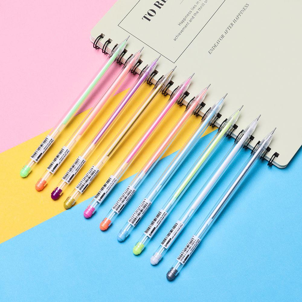 Tool  Transparent  Cute  Unisex Pen Gift Water Chalk Gel Pens Highlighter