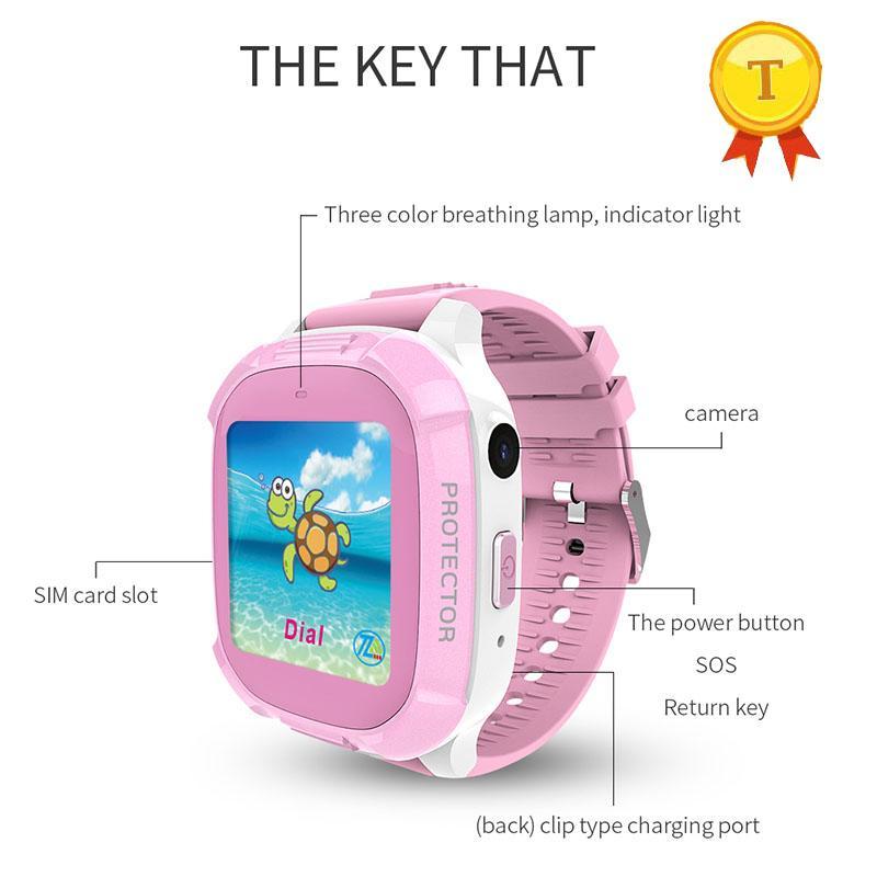 Watches Objective Children Kids Smart Watch 0.3mp Camera Lbs Tracker Ip67 Fitness Sport Watch Intelligent Photo Child Phone Watch