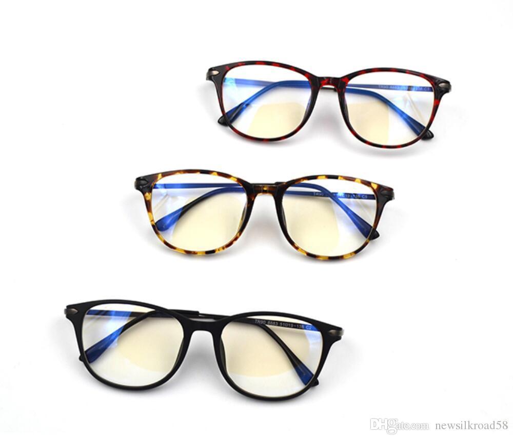 e5f91c0e096 High Quality Women TR90 Anti Blue Light Glasses Frame Leopard Computer  Radiation Optical Spectacles Frame Online Eyeglasses Frames Police Eyeglass  Frames ...