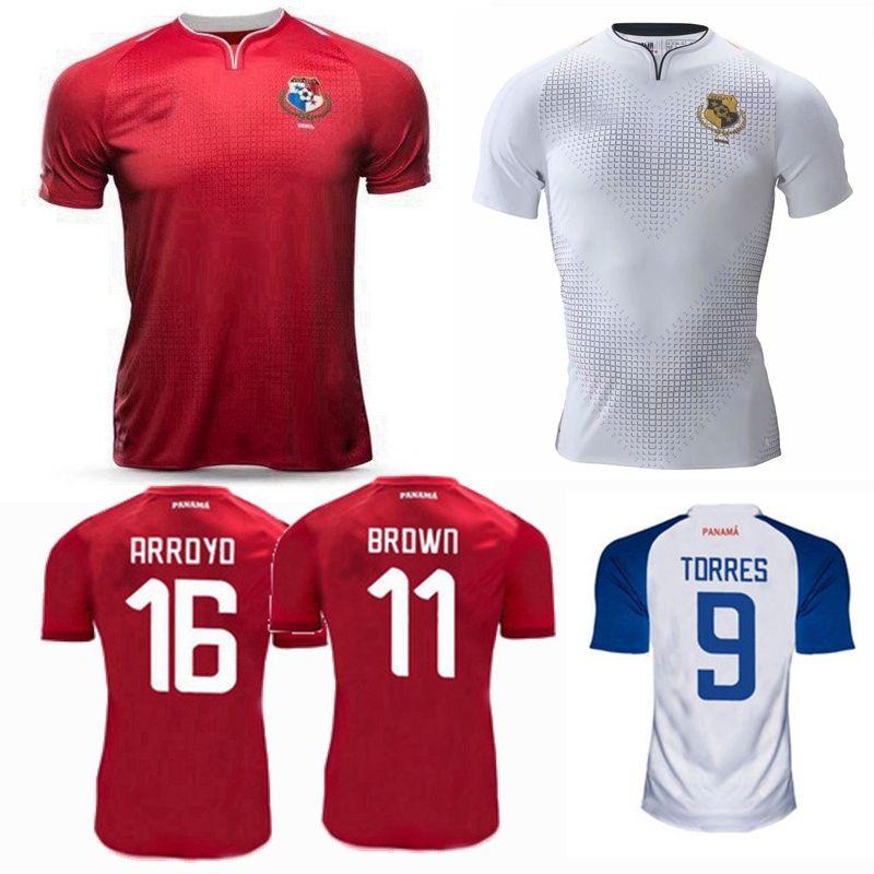 online retailer 3b013 36662 2019 2020 panama Soccer Jerseys national team home away 18 19 20 BROWN CHEN  B.PEREZ TORRES football jersey shirts S-2XL