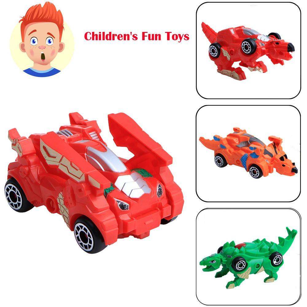 Acquista Creativo Bambini Mini Trasformazione Dinosauri Robot