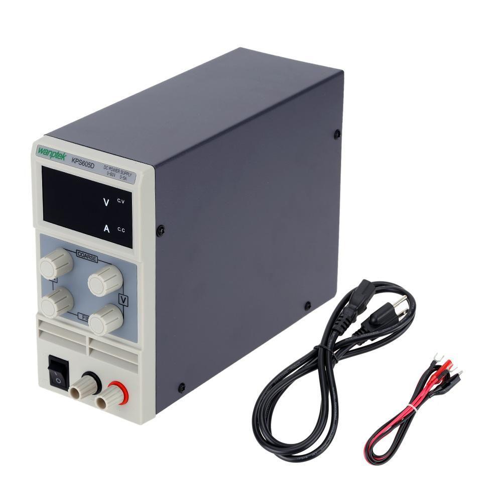 Mini DC Power Supply Switching Display 3 Digits LED 0-60V 0~3A Precision Variable Adjustable AC 110V/220V 50/60Hz