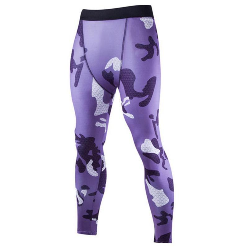 506b62805 2019 Fashion Camouflage Mens Compression Pants High Elastic Mens Joggers  Fitness Clothing Tights Leggings Bottoms From Yonnie, $55.29 | DHgate.Com