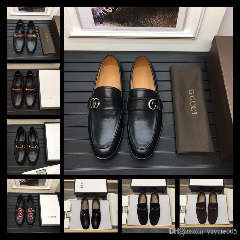 02722c88d615a6 Acheter Italienne Marque De Luxe Robe Habillée Hommes Chaussures En Cuir  Véritable Brogue D'affaires Bureau Classique Fête De Mariage Hommes  Chaussures ...