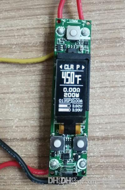 e cigarette vape box mod circuit board 80w 160w 200w OLED for DIY vape mod  custom OEM china factory direct