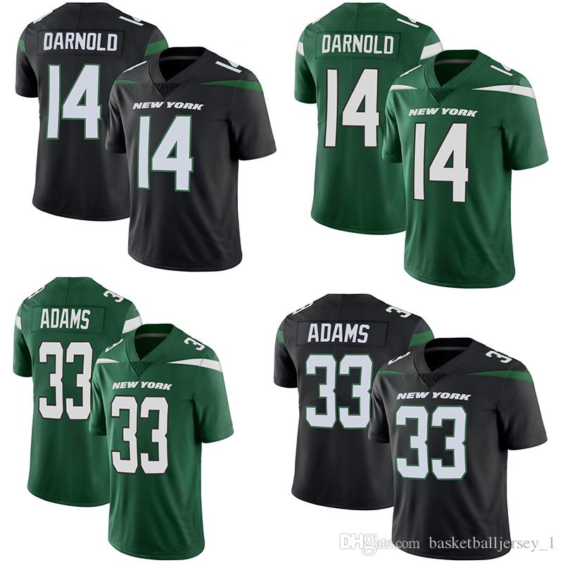 8b94d66a33b Mens American Football Jerseys New York 14 Sam Darnold Jets 26 Le Veon Bell  33 Jamal Adams Untouchable Limited Football Jersey