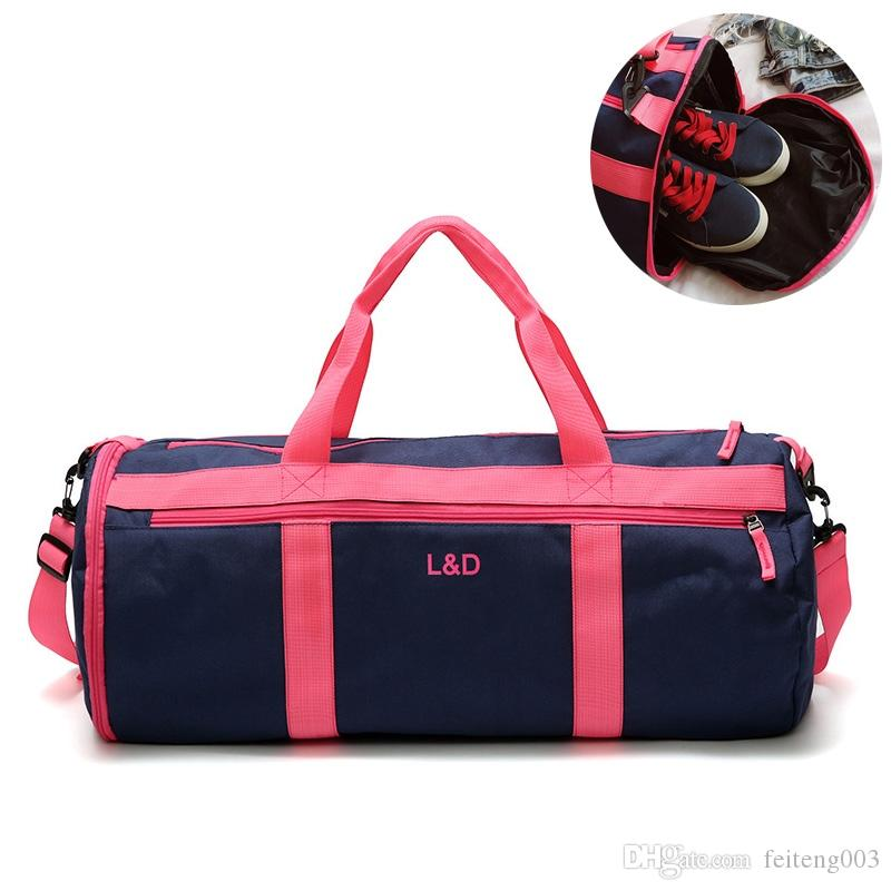 385308efab 2019 Outdoor Sports Gym Bags Swimming Bag Wet Dry Handbags ...
