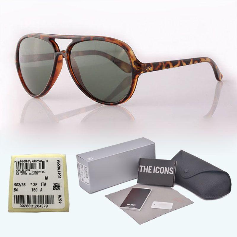 0204fe44f17 Luxury Brand Designer Classic Sunglasses Men Women Metal Hinge UV400 Glass  Lens Retro Vintage Sun Glasses Eyewear With Free Cases And Label Police ...