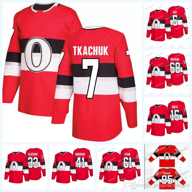 ... norway 2019 matt duchene ottawa senators third jersey 7 brady tkachuk  61 mark stone 68 mike 76b79e19d