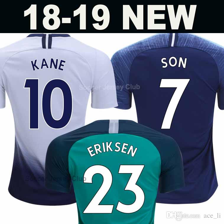 71a818d94 2019 MENS SPURS HOME Third Football Shirt 2018 2019 KANE SON ERIKSEN LAMELA  DELE WOMEN Kids Kits 18 19 20 New Soccer Jersey Top Thailand Quality From  Ace li ...