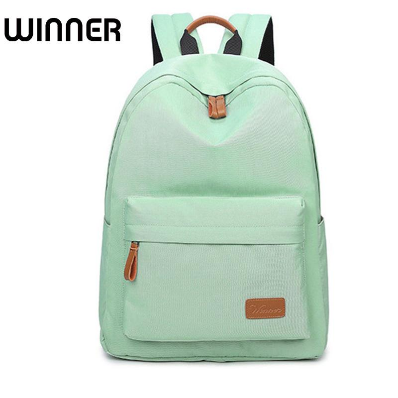 bf22a3118e1e 2019 FashionWaterproof Canvas Minimalist Women Backpack Travel Simple School  Bag For Teenagers Girls Bookbag Hydration Backpack Womens Backpacks From  Bag4