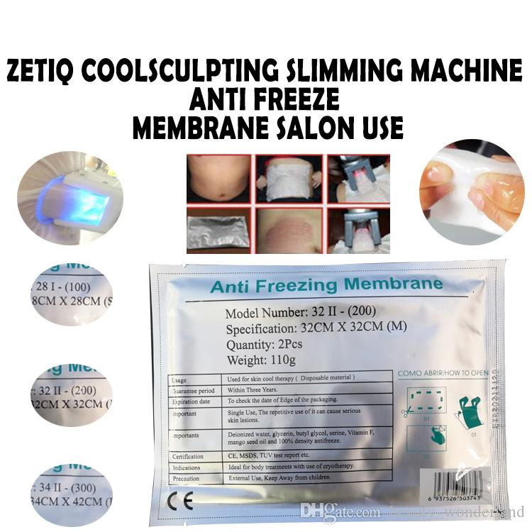2019 Antifreeze Membrane Machine Consumable Parts Cryo Therapy Cooling Gel  Pad Fat Anti Freeze For Cold Weight Loss Cryo Therapy Machine