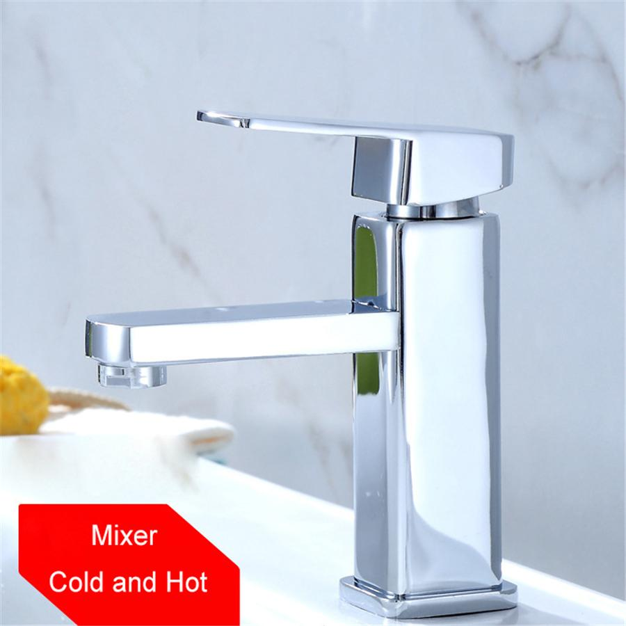 chrome polished bathroom single handle sink faucet basin mixer cold rh dhgate com