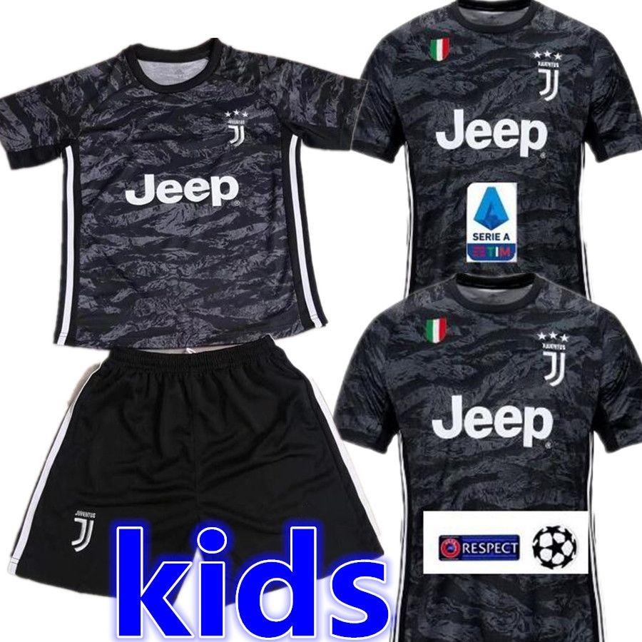 competitive price 3a3f3 3df3f 2019 2020 Juventus RONALDO Soccer Jersey Football Shirt Uniforms Szczesny  GOALKEEPER Bernardeschi 19 20 JUVE DYBALA Kids SPORTS Kits Sets