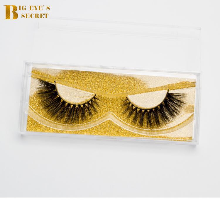 d0c8c0beeb2 Big Eyes Secret Eyelash Cosmetic Mink Lashes Manufacture Duos Strip ...