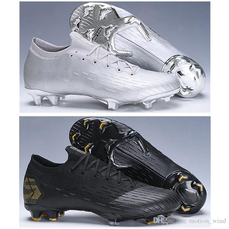 2019 Kids Low Ankle Football Boots Youth Mercurial Vapors XII Pro FG Soccer  Shoes Mens Women Superfly VI ACC Outdoor Soccer Cleats From Motion wind ae4af457a