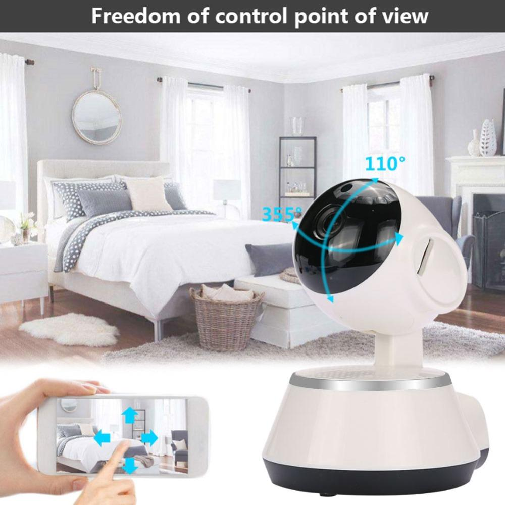 720P IP Camera 360 degree 1080P HD WIFI IP Camera Mini V380 Network  surveillance cameras Baby monitor remote control USB interface