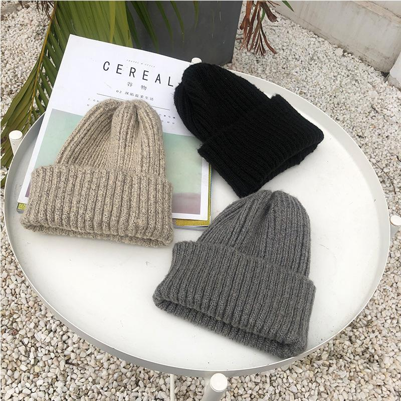 bd1f2f17aee Casual Cp03 Beanies for Men Women Warm Knitted Winter Hat Fashion ...
