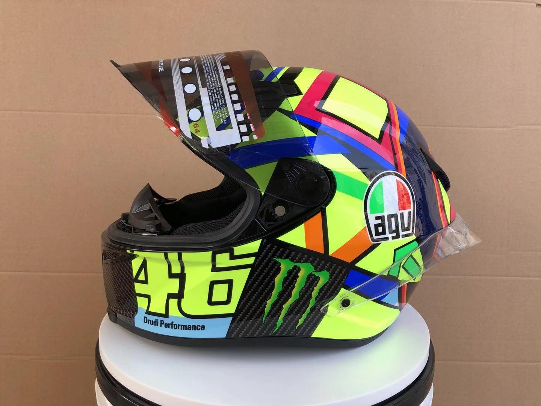 купить оптом Agv Pista Gp R Carbon Rossi Soleluna 2016 шлем Replica