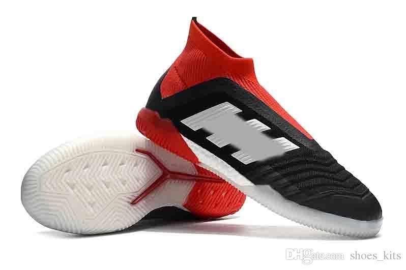 92b06f51f 2018 new arrival soccer cleats Predator Tango 18+ IC TF indoor soccer shoes  Tango 18 TF football boots mens botas de futbol black