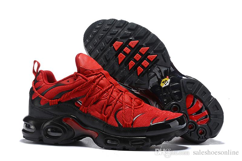 best loved 4db13 87b84 2019 Top Champagnepapi Tn Ultra SE Red Black White Yellow Chaussure Homme  Tns Designer Plus TN Mens Trainers Sports Sneakers