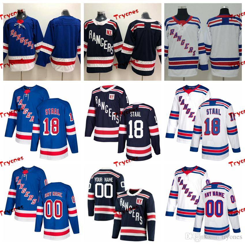 info for 2a958 f85ff 2018 Winter Classic Marc Staal New York Rangers Stitched Jerseys Customize  Home Shirts #18 Marc Staal Hockey Jerseys S-XXXL