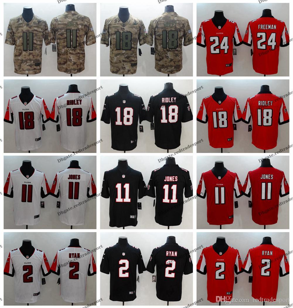 14d531676 2019 2019 Camo Salute To Service Atlanta 18 Falcons Ridley Football Jersey  2 Matt Ryan 11 Julio Jones 24 Devonta Freeman Vapor Untouchable Jersey From  ...