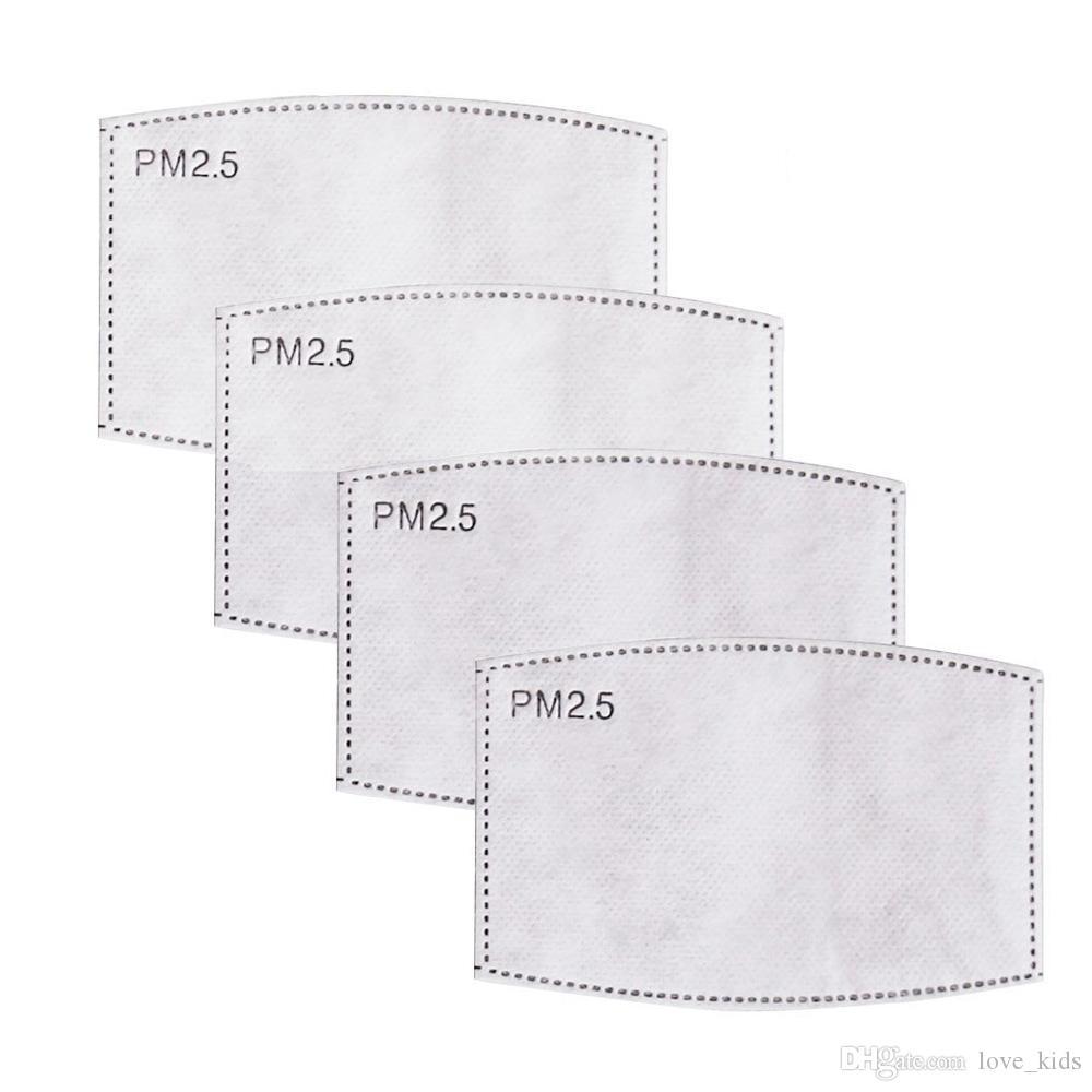 Дизайнер Маски РМ2,5 Фильтровальная бумага Анти Haze рот маска против пыли маска фильтровальная бумага Уход за здоровье взрослых дети дети Маски Уплотнительные