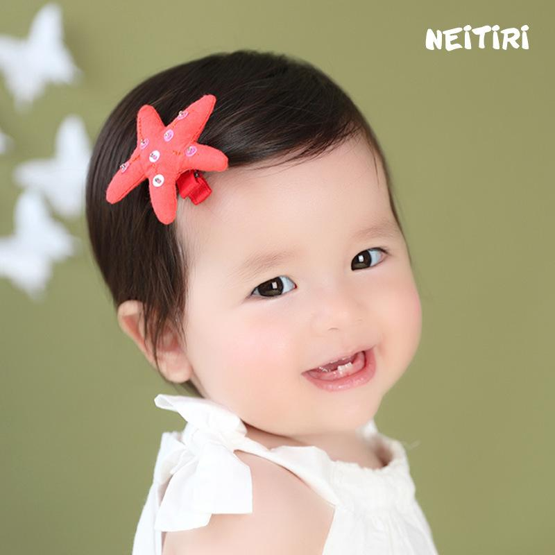 Cute Children Hair Clip Hair Barrettes Accessories Headwear Kids Baby Girls pins Full Cover Clips BB048