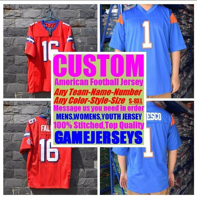 8db557664 2019 Personalized American Football Jerseys College Cheap Authentic ...